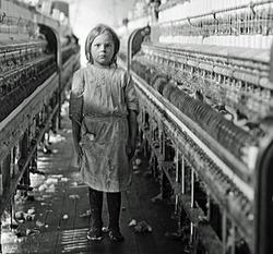 Kinderarbeit um 1900