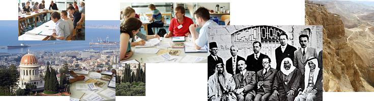 Jüdische Geschichte im Unterricht (Bilder: Pelger, Zadoff, Ester Inbar und Mapigo, wikimedia commons)