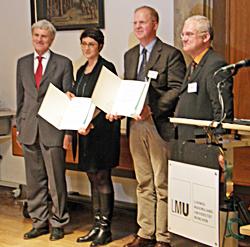 Übergabe des LMU-Lehrinnovationspreises 2013