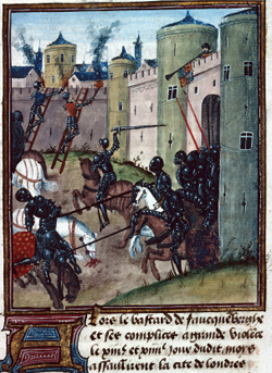 Belagerung Londons im Zuge der Rosenkriege