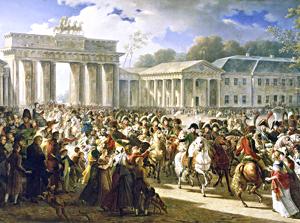 Meynier, Napoleon 1806 in Berlin, c1810