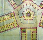 McNair Entwurf für ein Gefängnis in den 1880er Jahren